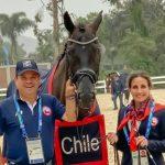 Virgina Yarur es la mejor nacional tras primer día del adiestramiento ecuestre en Lima 2019