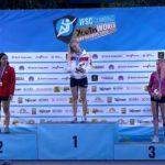 Alejandra Contreras ganó medalla de plata en el Mundial Juvenil de Escalada Deportiva