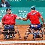 Alexander Cataldo y Diego Pérez cayeron en semifinales de dobles del tenis en silla de ruedas de Lima 2019
