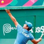 Alexander Cataldo y Diego Pérez cayeron en cuartos de final del tenis en silla de ruedas de Lima 2019
