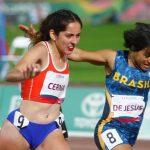 Amanda Cerna y Rodrigo Coloma finalizan cuartos en el Para Atletismo de Lima 2019