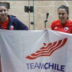Chile no sumó triunfos en una nueva jornada del racquetball en Lima 2019
