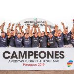 Chile se coronó campeón del Americas Rugby Challenge M20