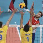 La Roja de Volleyball Masculino cayó ante Brasil en Lima 2019
