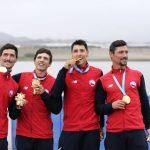 El remo le entrega dos nuevas medallas de oro a Chile en Lima 2019