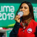 Francisca Crovetto ganó medalla de plata en el tiro skeet de Lima 2019