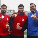 Gabriel Kehr y Humberto Mansilla ganan medalla de oro y plata en el atletismo de Lima 2019