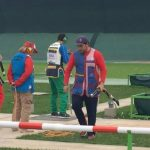 Héctor Flores terminó quinto en el tiro skeet de Lima 2019