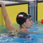 Inés Marín y Gabriel Araya disputaron finales B en la natación de Lima 2019