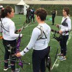 Catalina Marquez alcanzó los octavos de final del tiro con arco en Lima 2019