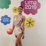 Javiera Rubilar finalizó en el puesto 15 de la gimnasia rítmica de Lima 2019