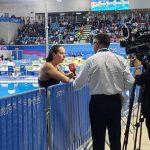 Kristel Köbrich fue cuarta en los 800 metros libres de la natación en Lima 2019
