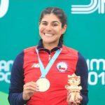 María José Moya le entrega la novena medalla de oro a Chile en Lima 2019