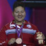 Marión Serrano ganó medalla de bronce en el Para Powerlifting de Lima 2019
