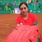 Sofía Fuentes cayó en la primera ronda del tenis en silla de ruedas de Lima 2019
