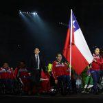 Con Alberto Abarza como abanderado desfiló el Team ParaChile en la inauguración de los Juegos Parapanamericanos Lima 2019