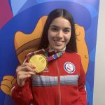 Valentina Muñoz ganó medalla de oro en la Para Natación de Lima 2019
