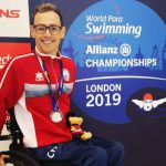 Alberto Abarza ganó medalla de plata en el Mundial de Para Natación