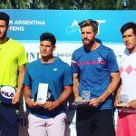Bastián Malla se tituló campeón de dobles del M15 de Buenos Aires