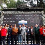 Autoridades dan el vamos al Gran Premio de Curicó del RallyMobil