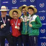 Gustavo Alarcón, Felipe Alvear y Paula Silva ganaron las primeras medallas para Chile en el Sudamericano de Esgrima