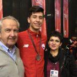 Chile sumó una plata y cuatro bronces en el Karate 1 Series A Santiago 2019