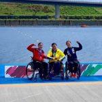 Katherinne Wollermann ganó medalla de plata en Test Event de Tokio