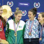 Katina Proestakis y Rodrigo González suman nuevas medallas para Chile en el Sudamericano de Esgrima