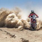 Kevin Benavides tomó el liderato en las motos del Atacama Rally