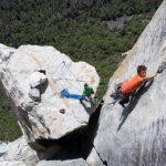 León Riveros logró escalar las reconocidas paredes de Yosemite National Park en California