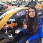 María José Pérez de Arce se abre paso en el automovilismo nacional