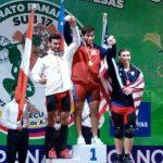 Nicolás Cuevas obtuvo una medalla de oro y dos de plata en el Panamericano Sub 17 de Levantamiento de Pesas