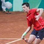 Tomás Barrios sufrió una dura derrota en la primera ronda del M25 de Darwin