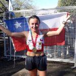 Manuel Cabrera y Verónica Ángel realizaron una buena actuación en el Sudamericano de Maratón 2019