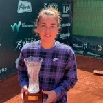 Fernanda Brito se tituló campeona del W15 de Santiago, Copa Las Condes