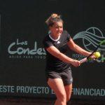 Fernanda Brito jugará la final del W15 de Santiago Copa Las Condes