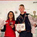 Francisca Crovetto ganó medalla de bronce en el tiro skeet mixto del ISSF World Cup Final