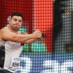 Gabriel Kehr y Humberto Mansilla compitieron este martes en el Mundial de Atletismo