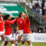 La Roja Femenina goleó a Uruguay en Temuco