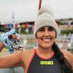 Bárbara Hernández sumó ocho medallas en nueva fecha del Circuito Mundial de Aguas Gélidas