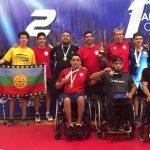 Chile se tituló campeón de la Copa Tango de tenis de mesa paralímpico 2019