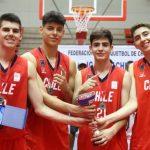 Chile se tituló campeón del Sudamericano de Básquetbol Masculino 3x3 Sub 17