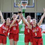 Chile se tituló campeón del Sudamericano Sub 17 de Básquetbol Femenino 3x3