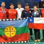 Chile ganó tres medallas de bronce en el Guatemala Future Series de Bádminton