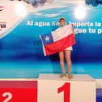 Eliana Busch ganó tres medallas de oro en el Sudamericano Máster de Natación