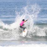 Roberto Araki y Lorena Fica ganaron la quinta fecha del Circuito Nacional de Surf