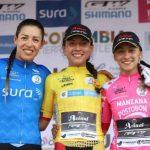 Aranza Villalón tomó el liderato de la Vuelta Femenina a Colombia