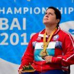 Francisca Mardones fue nominada como atleta del mes de noviembre por el Comité Paralímpico de las Américas