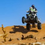 Ignacio Casale llega tercero y se mantiene como líder de los quads en el Dakar