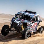 """""""Chaleco"""" López se mantiene segundo en la categoría Side by Side tras la novena etapa del Dakar"""